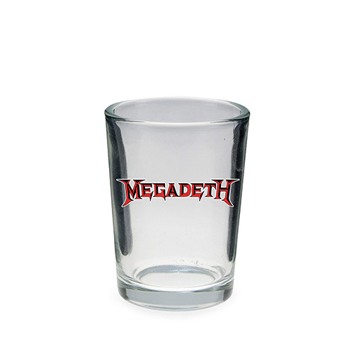 4oz Megadeth Shot Glass