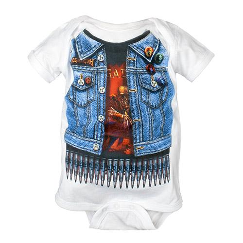 NEW - Megadeth Baby Onsie
