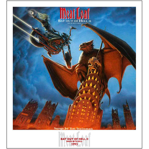 Bat Out Of Hell II Lithographic Print - Limited Collector's Edition 1/250