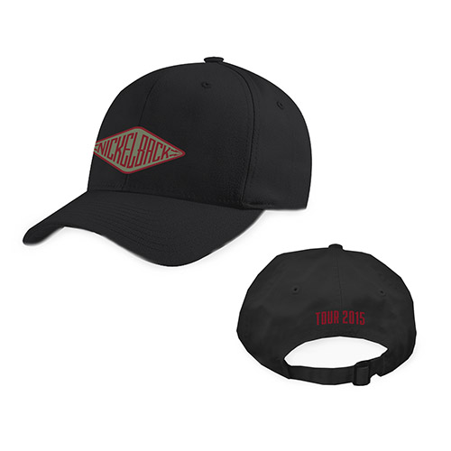 Nickelback Adjustable Tour Hat