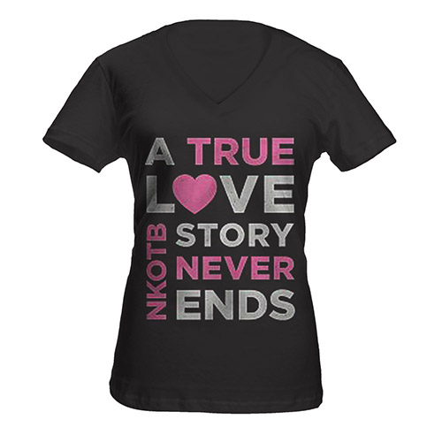 True Love Story Ladies Tee