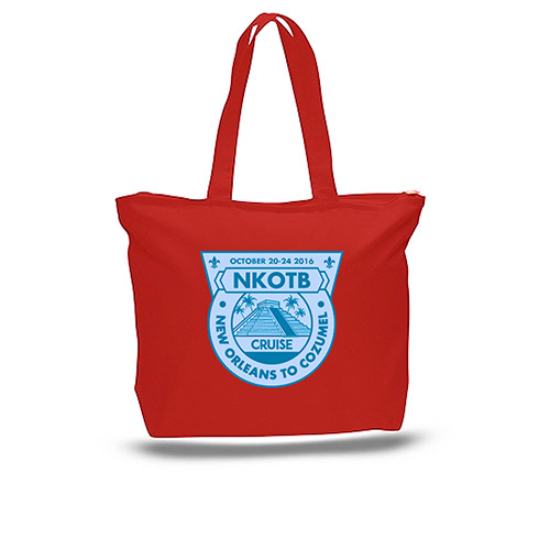 Cruise 2016 Zippered Tote Bag