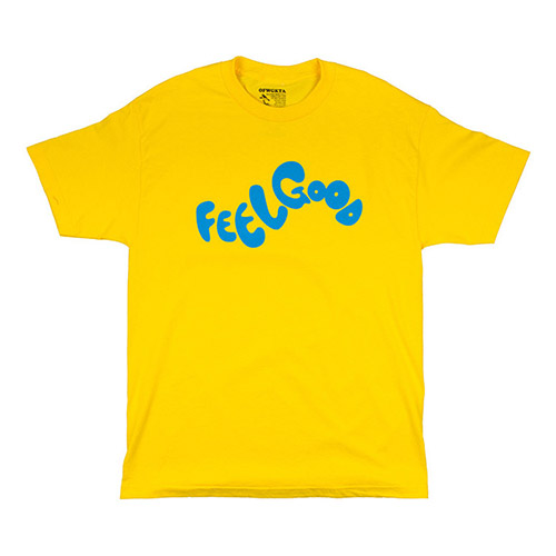 FEEL GOOD LOGO TEE YELLOW