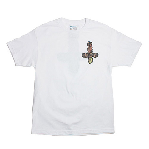 MELLOWHYPE 65 WHITE TEE