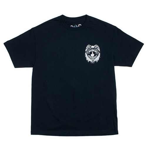MELLOWHYPE BADGE NAVY TEE