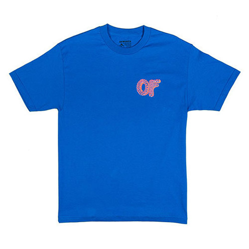 OF OPTICAL DONUT TEE BLUE