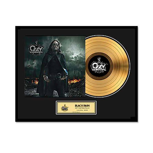 Collectors Edition Black Rain Gold LP