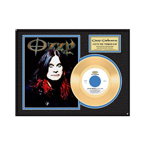 Collectors Edition Get Me Through Ozzy Gold 45 LP