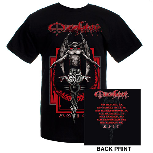 Ozzfest 2010 Tour Tee
