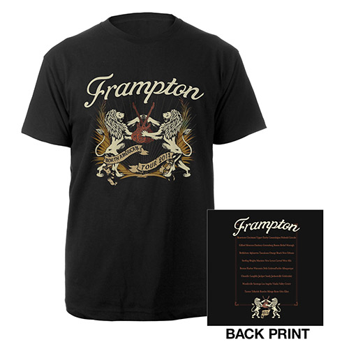 Peter Frampton Lions & Guitars Tour Tee