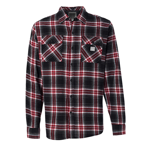 Five Bars Plaid Flannel