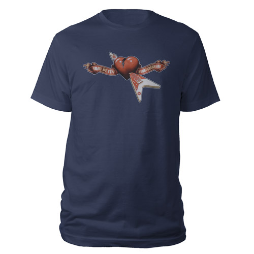 Flying V Through the Heart Logo Tee