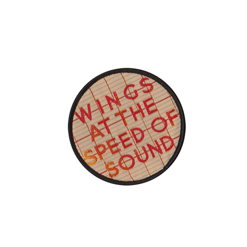 Wings Speed of Sound Sew on Patch