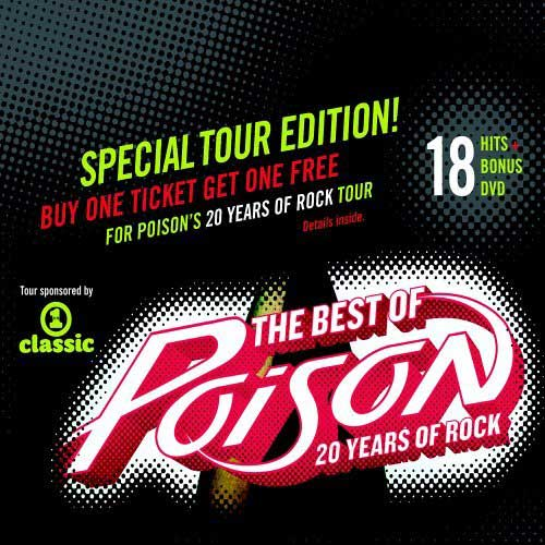 The Best of Poison: 20 Years of Rock (CD &amp; DVD) 