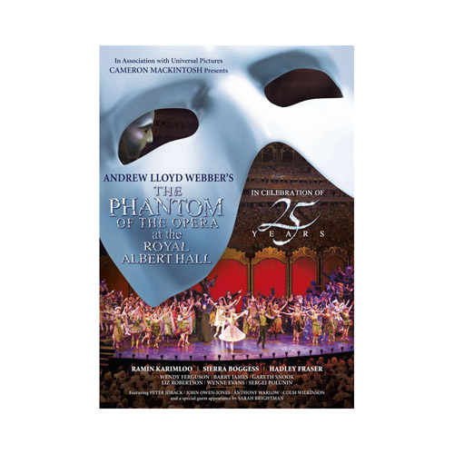 Phantom 25th Anniversary Concert DVD