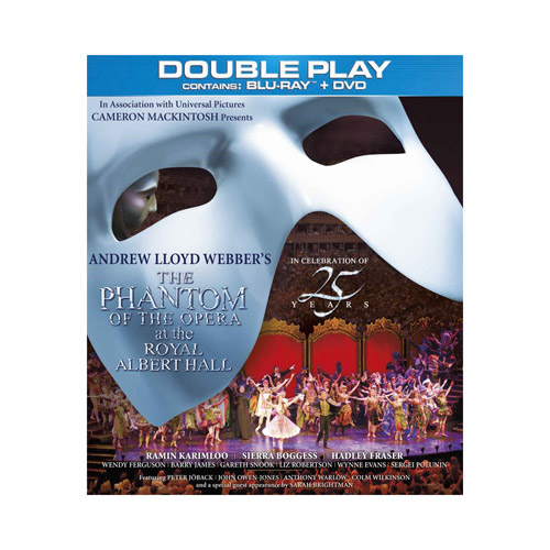 Phantom 25th Anniversary Concert DVD - Bluray