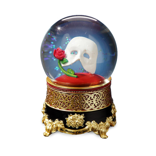 Phantom Classic Mask with Rose Water Globe