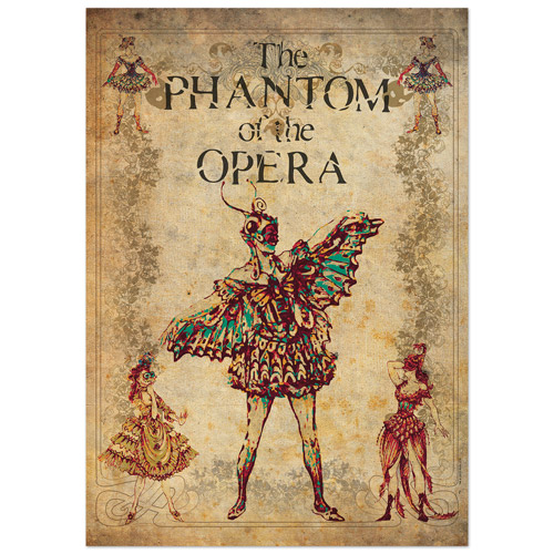 Phantom Of The Opera Lithograph Masquerade Ball