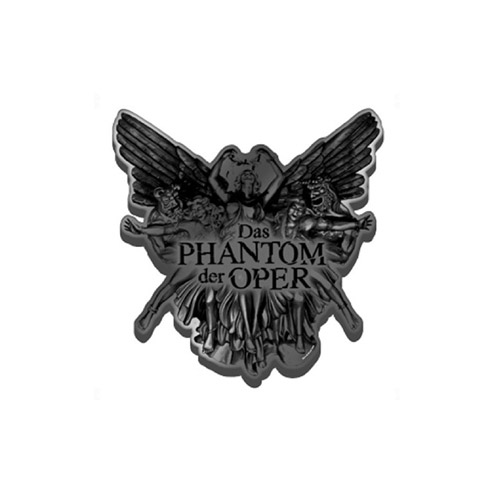 Phantom Of The Opera German Metal Pin Badge