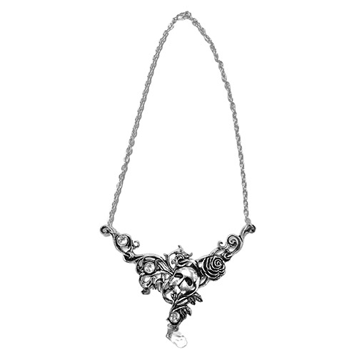 Phantom Antique Pewter Christine Necklace