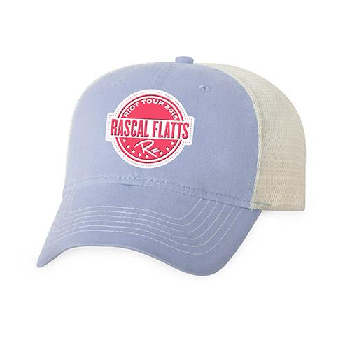 Riot Tour Pale Blue Trucker Hat