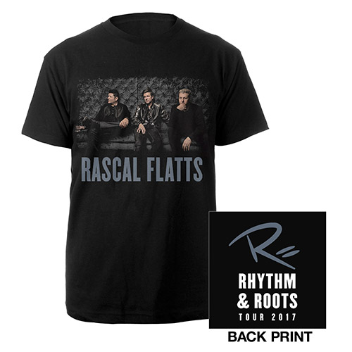 Rascal Flatts Rhythm & Roots Tee 2017