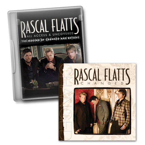 Changed Deluxe CD and All Access & Uncovered DVD Bundle