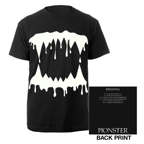 Monster Teeth Glow In The Dark Tour Tee