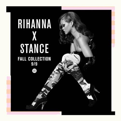 Rihanna X Stance Fall Collection