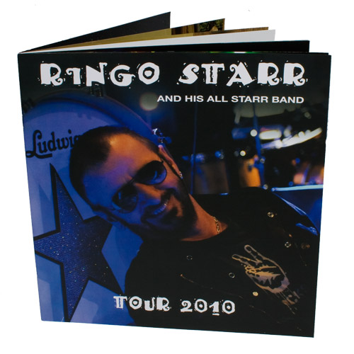 Official 2010 Ringo Starr Tour Program