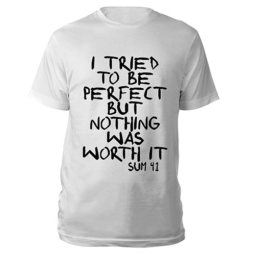 I tried to be perfect Tee