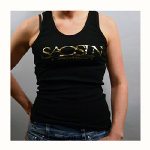 Juniors Gold Foil Tank