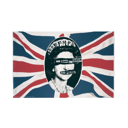 God Save The Queen Masterprint