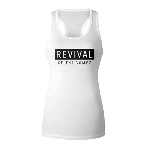 Revival White Racerback Girl's Tank