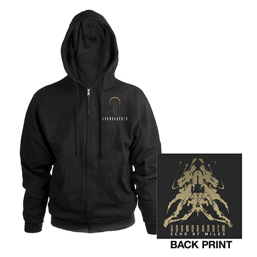 Echo Of Miles Soundgarden Zip-Up Hooded Sweatshirt