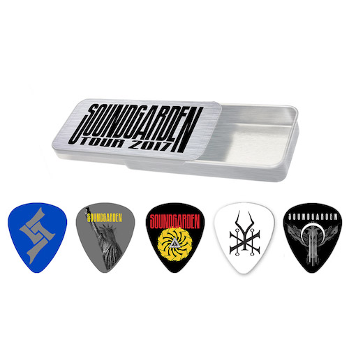 2017 Spring Tour Guitar Pick Set
