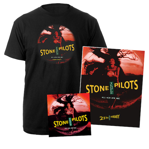 Core 25th Anniversary Deluxe CD, Tee & Litho Bundle