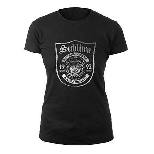 Sublime 25th Anniversary Women's Tee