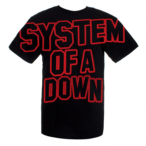 New - SOAD Band Logo Tee