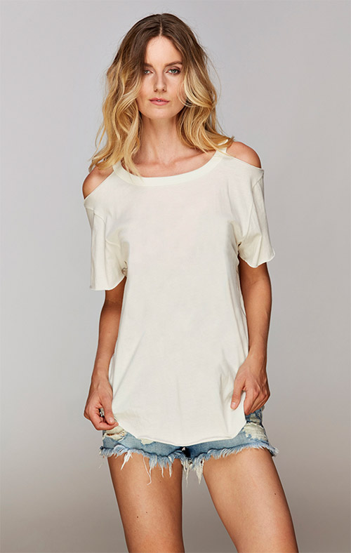 Trunk Ltd Cold Shoulder Tee