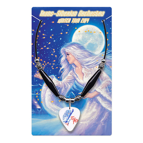 TSO Guitar Pick Necklace