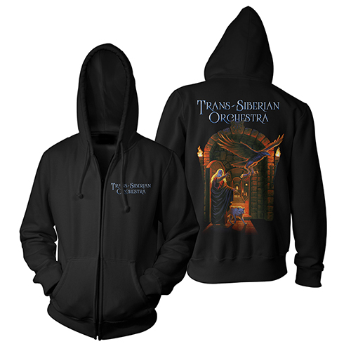 Letters from the Labyrinth Zip Hoody