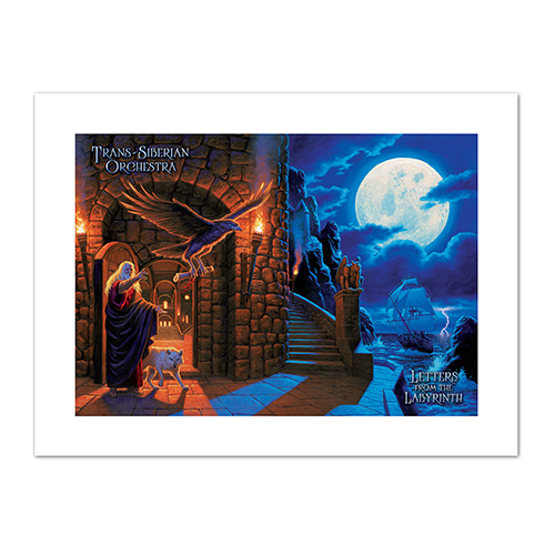 Letters from the Labyrinth Litho