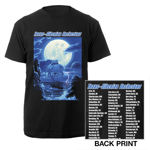 Winter Tour Itin Tee
