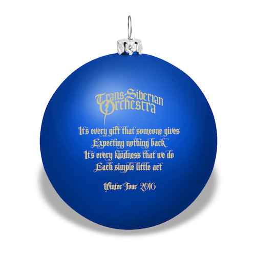 Winter Tour Ornament