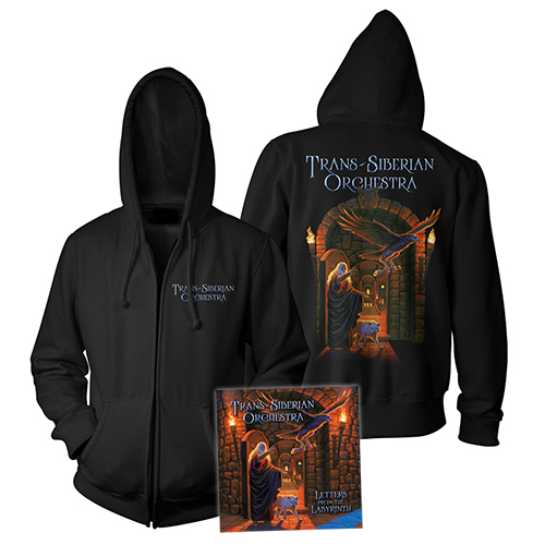 Letters from the Labyrinth Hoody + CD Bundle