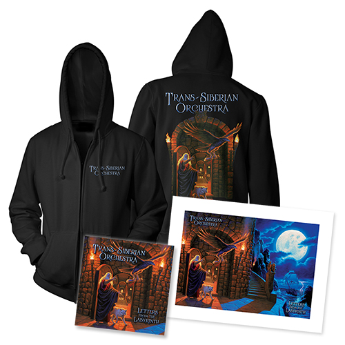 Letters from the Labyrinth Hoody + Litho + CD