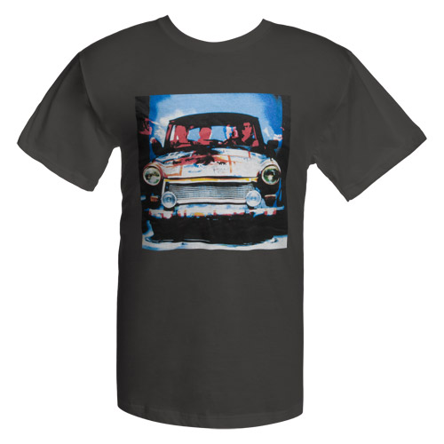 Achtung Baby Car Photo T-Shirt