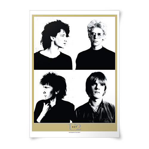 'Boy' Album Lithograph