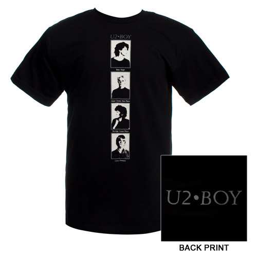 'BOY' Album Portraits T-Shirt  (Black)